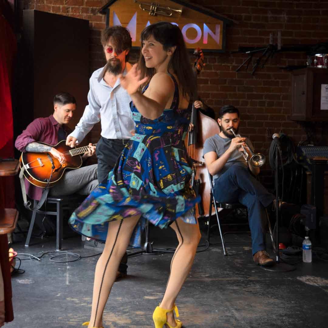 Chance Bushman & The Nola Jitterbug Jazz Band Sunday Brunch at The Maison