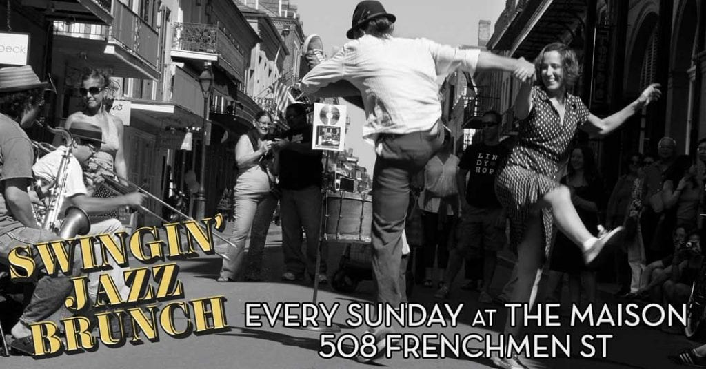 Jazz Brunch Every Sunday at The Maison in New Orleans