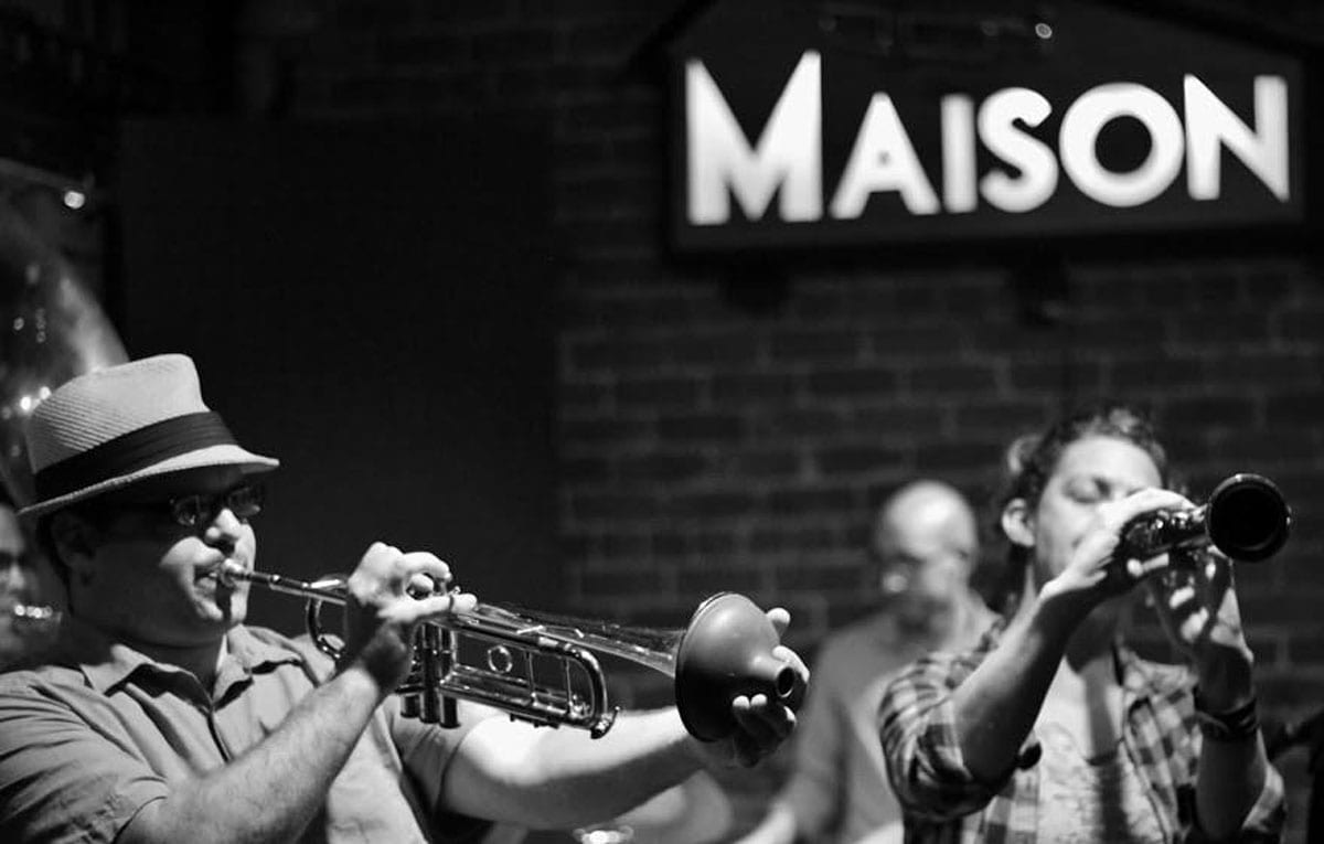 The Royal Roses play live at The Maison on Frenchmen Street every Monday at 7PM.