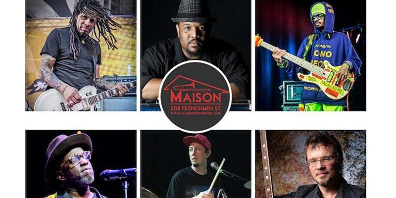 Boom Boom Room presents Rockus Caucus at The Maison Jazz Fest 2021